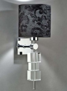 Hotel Light_Wall Lamp Glass_73040 Solid Cubes