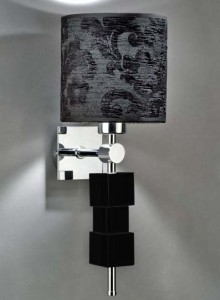 Hotel Light_Wall Lamp Glass_73044 Solid Cubes