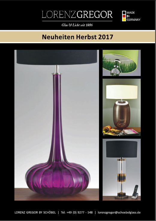 LORENZ Gregor Neuheiten 2017
